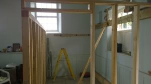 Inside Building Work Begins