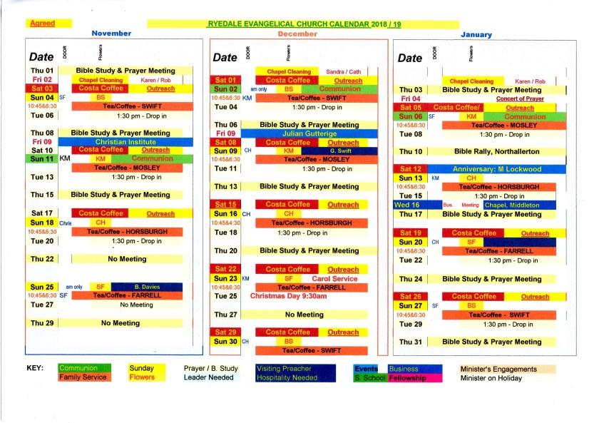 Nov to Jan 19 Calendar001